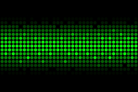glistening: Vector abstract background - green lights