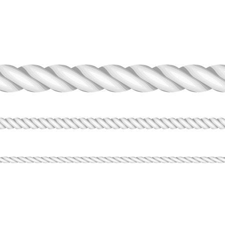 Vector illustratie van touwen Stockfoto - 17336115