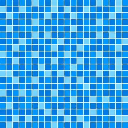 Vector blauwe tegel muur