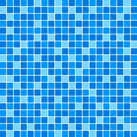 Vector blue tile wall Vector