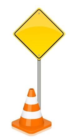 Vector illustration of warning sign Stock Vector - 17348080