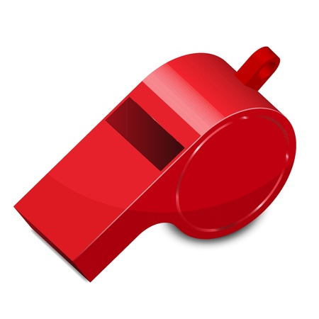 whistle: Vector illustration of whistle