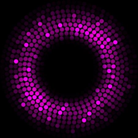 sequin: Purple lights - background