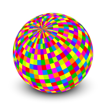 Vector illustration of colorful ball Vector