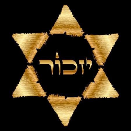 estrella de david: recuerdo hebreo