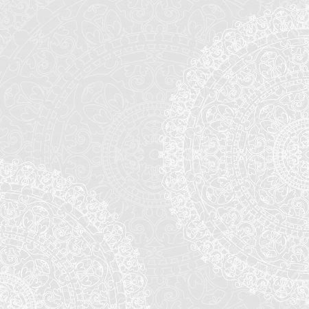 retro lace: Vector background with white napkins