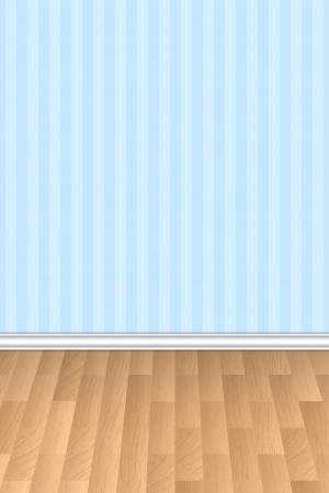 tarima madera: Ilustraci�n vectorial de la pared y el fondo del piso de