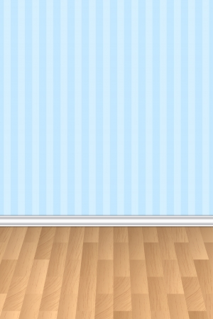 wall floor: Vector illustration of wall and floor background