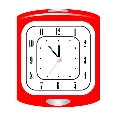 Vector illustration of alarm clock Vector