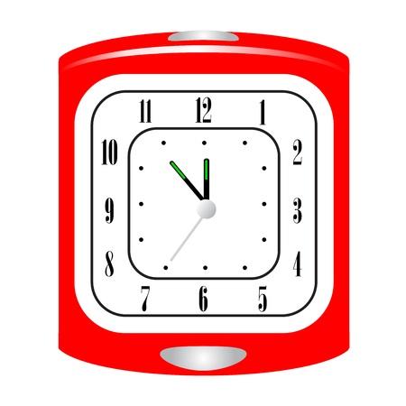 arousing: Vector illustration of alarm clock Illustration