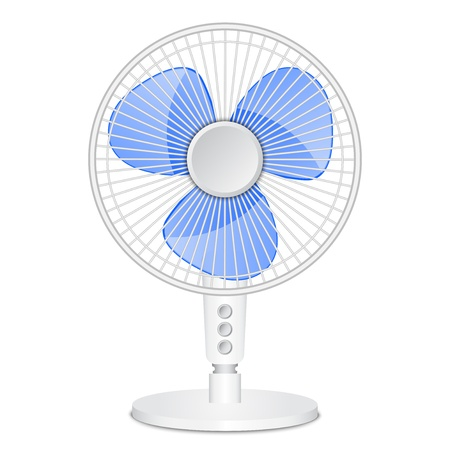 Vector illustration of electric fan Vector