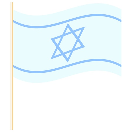 Vector illustration of Israel flag Stock Vector - 19059527