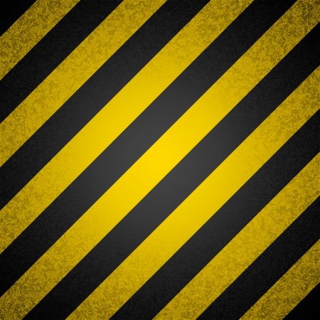 background - black and yellow hazard stripes Stock Vector - 19749672