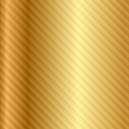 dorato: fondo oro con strisce Vettoriali