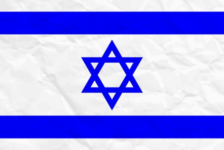 Vector illustration of Israel flag Vector