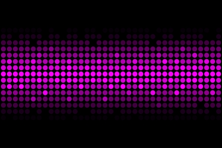 discoball: Purple disco lights - vector abstract background