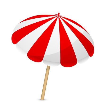 Vector illustratie van de parasol
