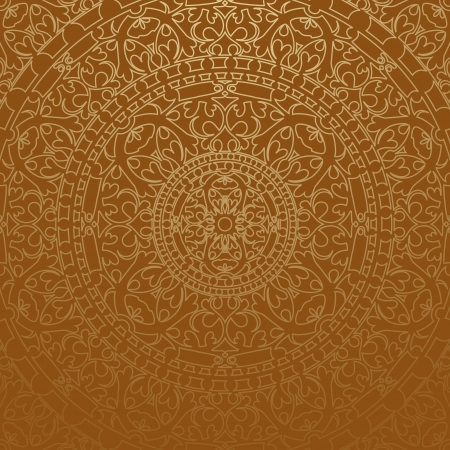 oriental rug: brown oriental background