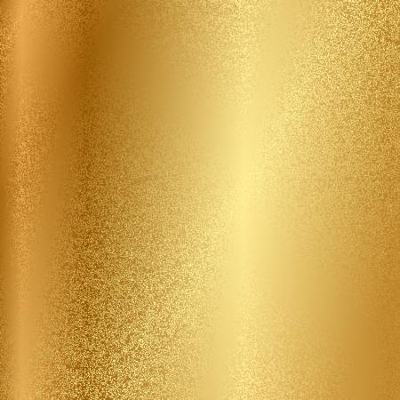 dorado: textura de metal Vectores