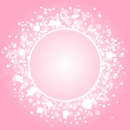 abstract pink frame Stock Vector - 20940771