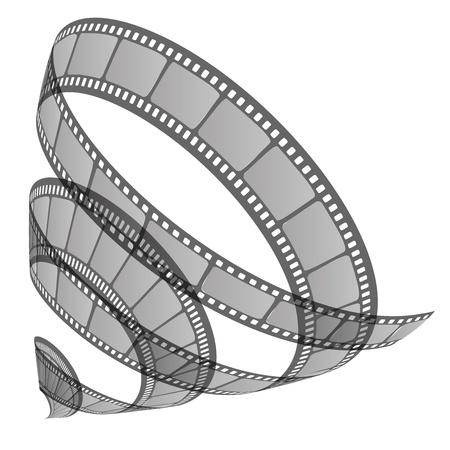 cinematographer: illustration of film roll