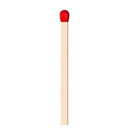matchstick:  illustration of match