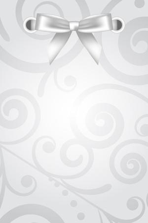 fita: Fundo floral do vetor com arco