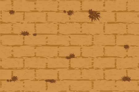 Vector illustration of wailing wall Vector