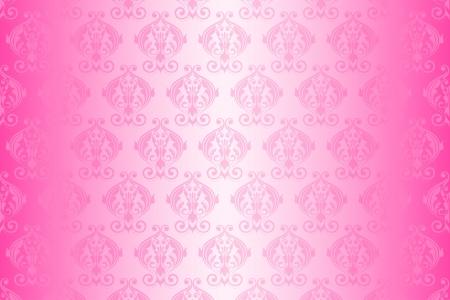 Vector pink wallpaper Vector