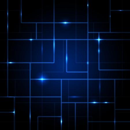 回路基板の抽象的なベクトルの背景  イラスト・ベクター素材