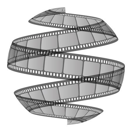 cinematographer: Vector illustration film ribbon