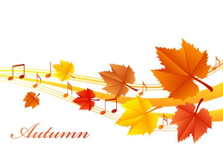 Vector illustratie van bladeren