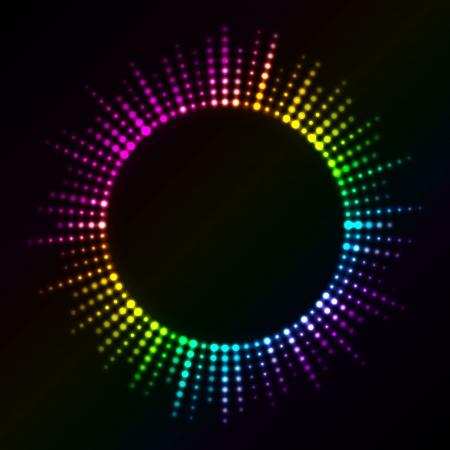 glisten: Вектор красочные огни
