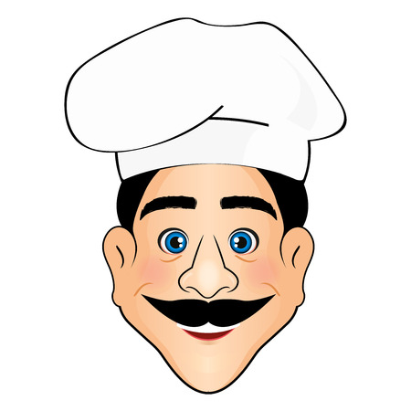 Vector illustration of cook Vector
