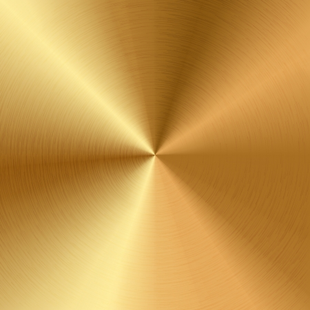 brushed: Vector gold texture