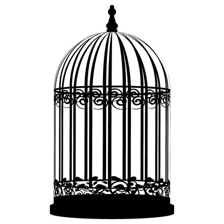 birdcage: Vector illustration of birdcage Illustration