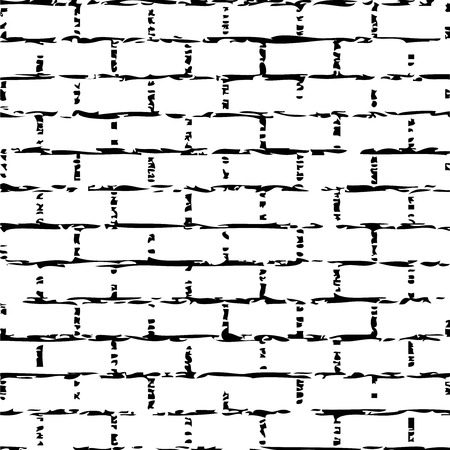 Vector illustration of brick wall
