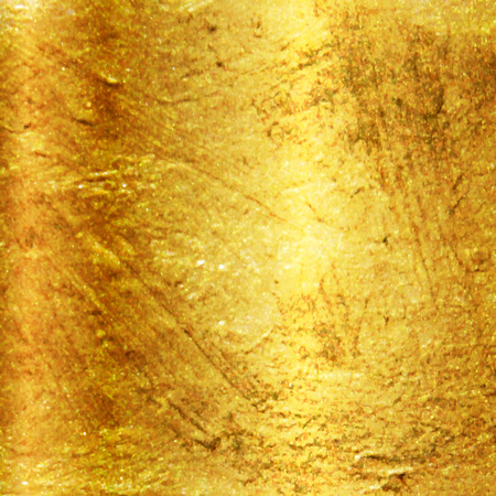 brass plate: Vector textured gold background Illustration