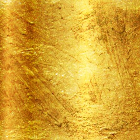 metaal: Vector textuur gouden achtergrond