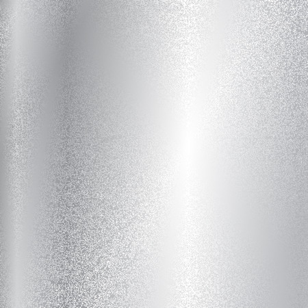 silver backgrounds: Vector silver metal texture Illustration