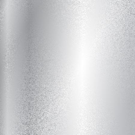 Vector zilver metaal textuur Stock Illustratie