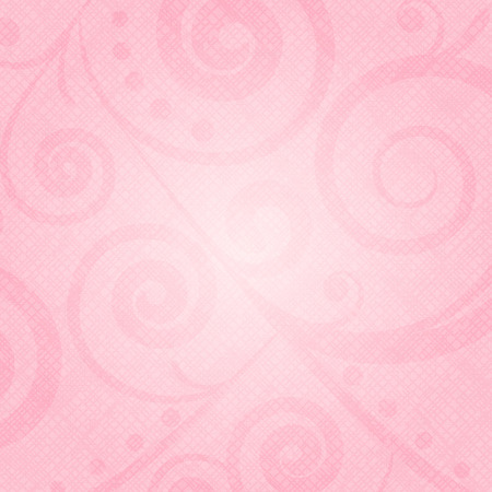 Vector pink texture with floral pattern Illustration