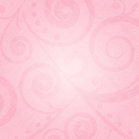 Vector pink texture with floral pattern Ilustração