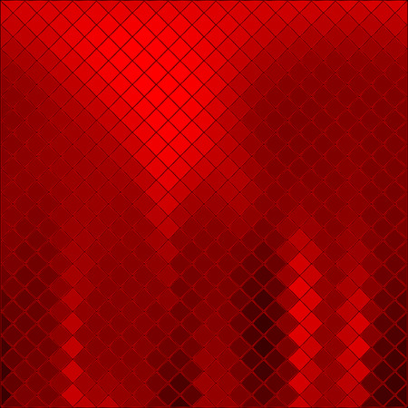 metal: Vector abstract red background