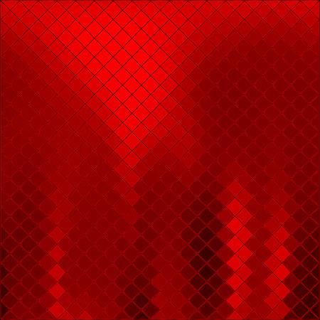 metaal: Vector abstract rode achtergrond Stock Illustratie