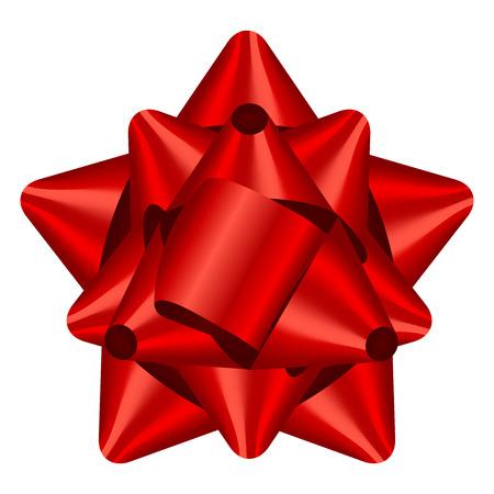 Vector illustration de ruban rouge Banque d'images - 33504136