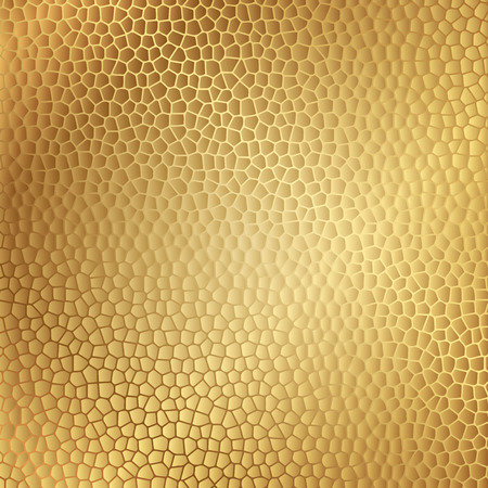clipart wrinkles: Vector gold leather texture
