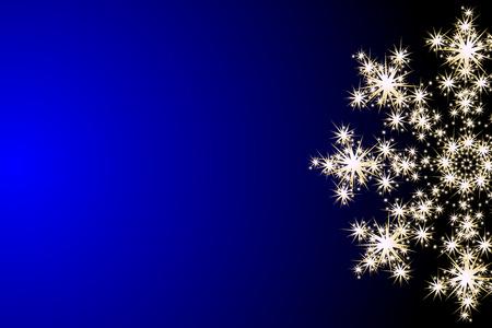 Vector Hintergrund mit leuchtenden Schneeflocke Standard-Bild - 33504222