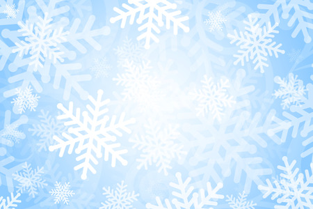 Vector background with snowflakes Vector
