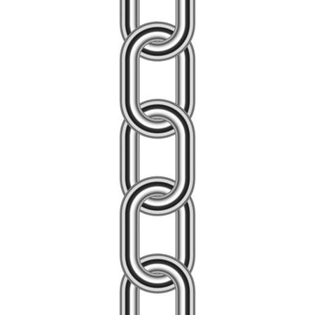 Vector illustration of chain Illustration